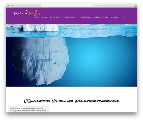 Total free website theme - mindsurfer.academy