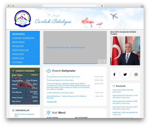 TownPress WordPress theme - cardak.bel.tr