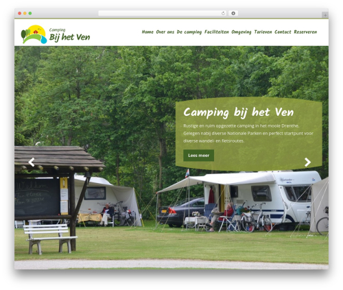 Aquila theme WordPress - campingbijhetven.nl