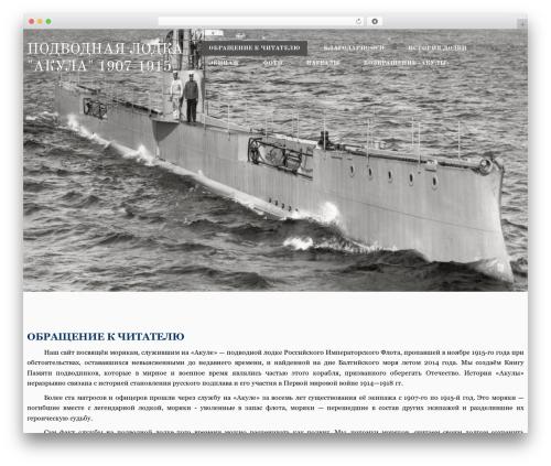 Best WordPress theme Avis Lite - akula1915.ru