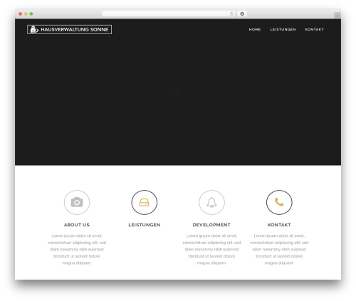 Best WordPress theme Bridge (Shared on MafiaShare.net) - hausverwaltung-sonne.immo