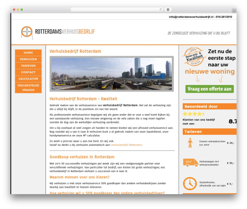 BLANK Theme WordPress theme - rotterdamsverhuisbedrijf.nl
