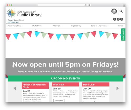 EGPL Theme theme WordPress - egpl.ca