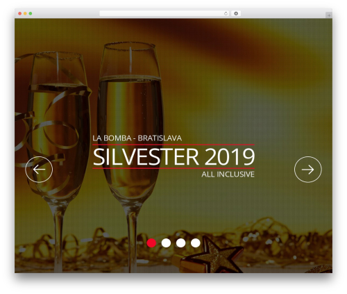 Rocketick WP theme - silvestrovska.party