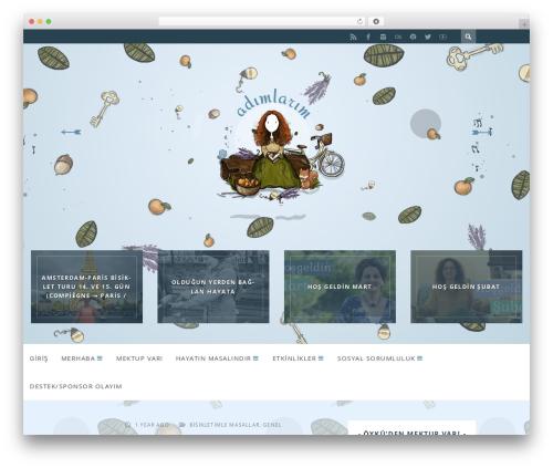 ST Squirrel theme WordPress - adimlarim.net