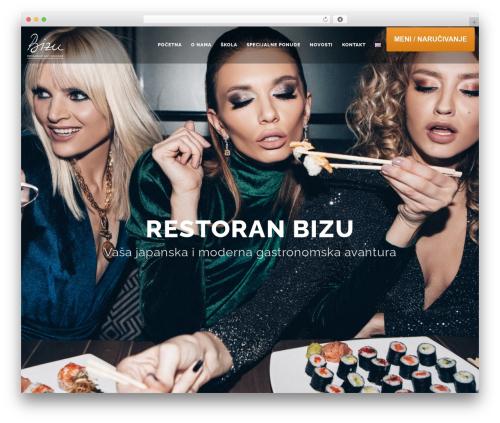 Theme WordPress Tomato - bizu.rs