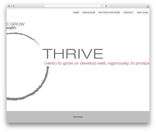 WordPress theme Safreen Pro - healthrivegrow.net