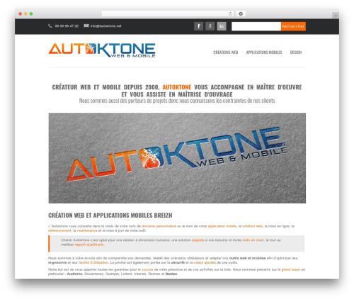 Avrora WordPress ecommerce theme - autoktone.net