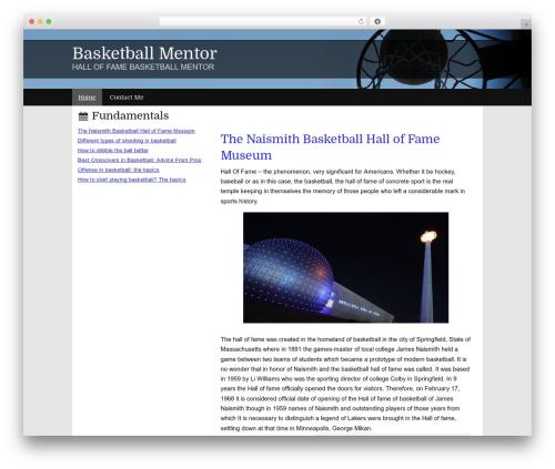 Milky Way theme WordPress - 1by1leadershipfoundaiton.org