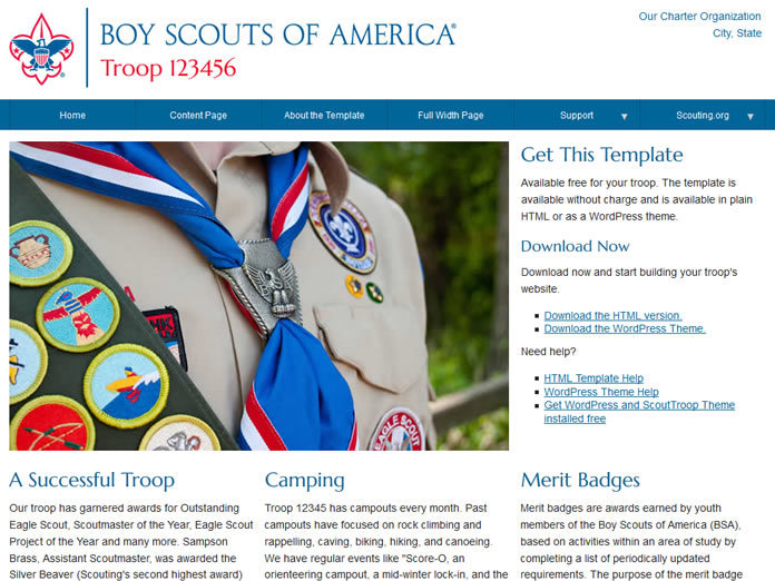 scout website free
