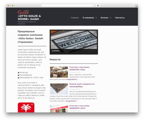 Storefront best WooCommerce theme - golze.ru