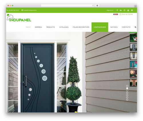 Template WordPress Veda - indupanel.es