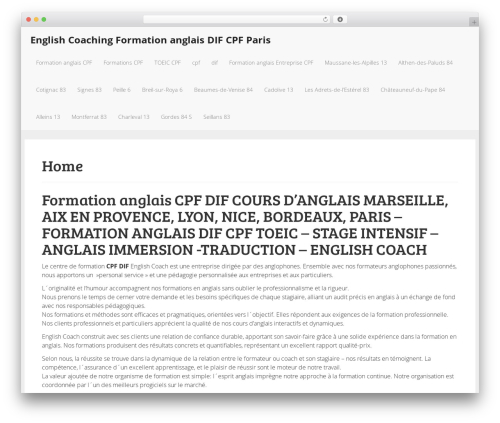 The Modern Law Firm WP theme - english-coach.org