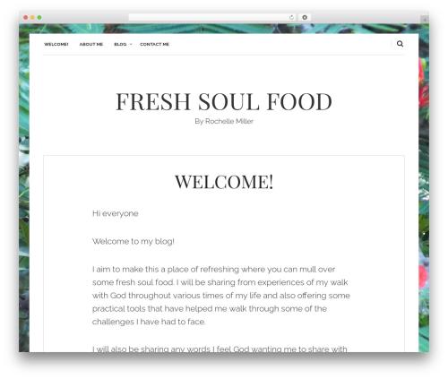Theme WordPress carolina - rochellemiller.org