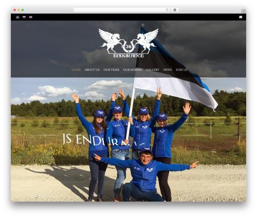 Theme WordPress HorseClub - js-endurance.team