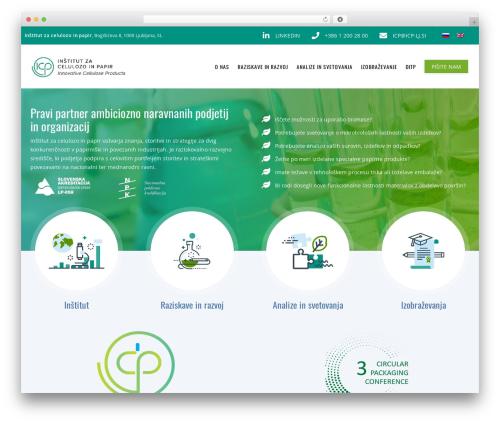 WordPress template Recycle - icp-lj.si