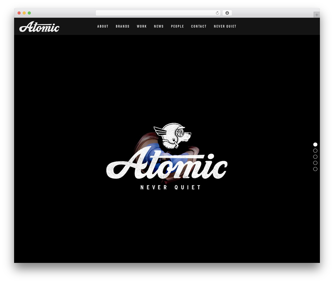 WordPress theme Movedo - atomic-london.co.uk