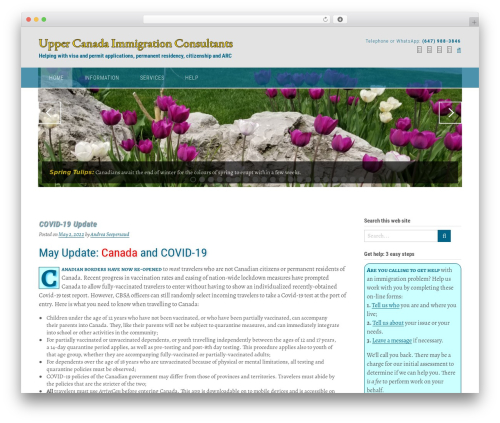 Best WordPress template Panoramic - uppercanadaimmigration.consulting