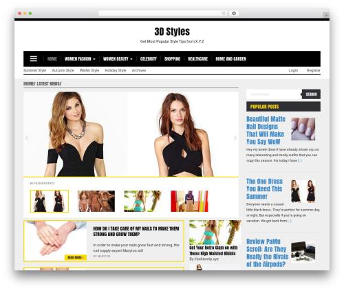 Morning Monday Lite top WordPress theme - fashiontip.xyz