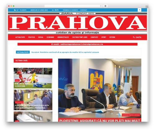 Newspaper WordPress news theme - ziarulprahova.ro