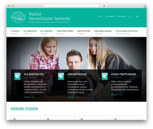 WordPress template UpSide - whs.ath.bielsko.pl