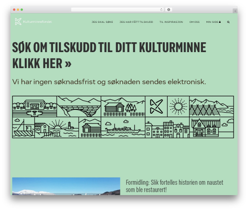 WordPress theme Manual - kulturminnefondet.no