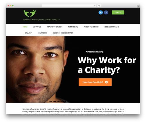 WP theme Charity Is Hope - gracefulhealingus.org