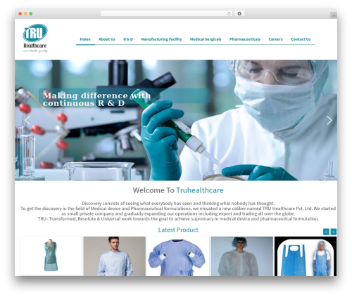 456Ecology top WordPress theme - truhealthcare.in