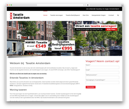 Avada theme WordPress - taxatieamsterdam.nl
