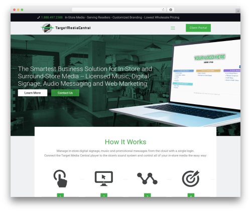 Betheme WordPress page template - targetmediacentral.com