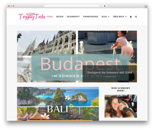 Chic WP template - trippingtribe.de