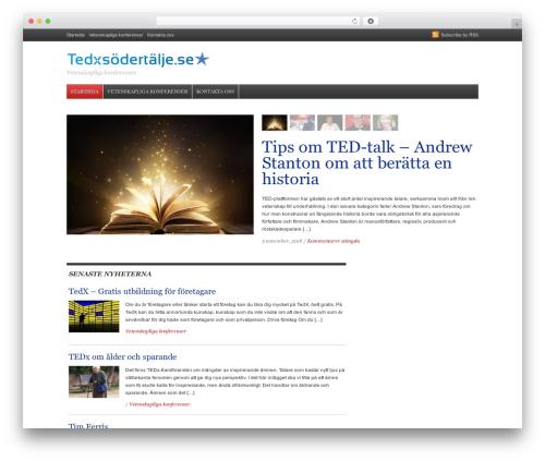 Daily Headlines WordPress theme - tedxsodertalje.se