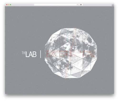Encore WordPress theme - thelabexperimental.com