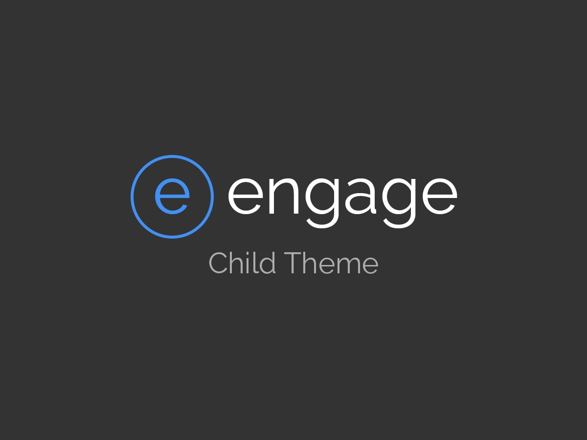 Engage Child top WordPress theme