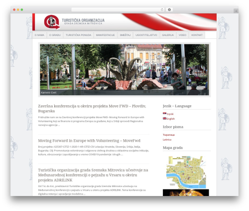 Fresh And Clean WordPress page template - tosmomi.rs