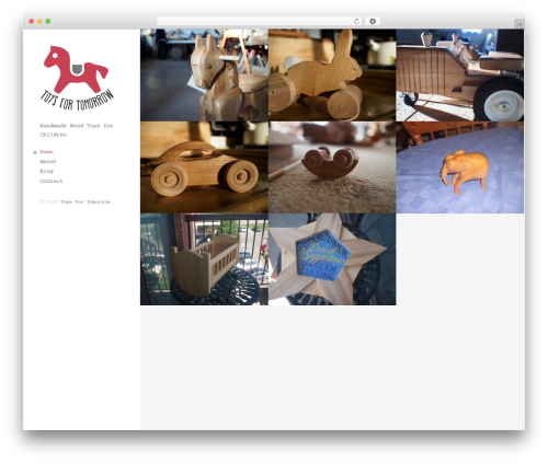 Mesh WordPress theme - toysfortomorrow.ca