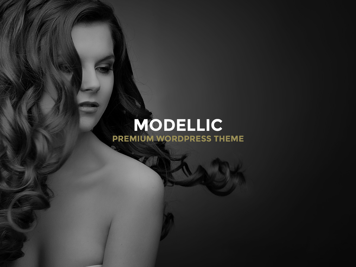 Modellic template WordPress