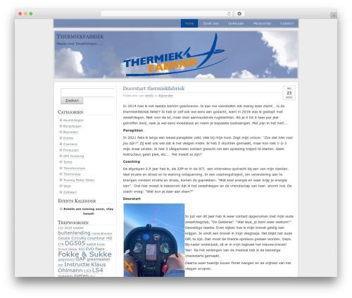 Paalam WordPress page template - thermiekfabriek.nl