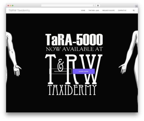 Shapely free WordPress theme - trwtaxidermy.com