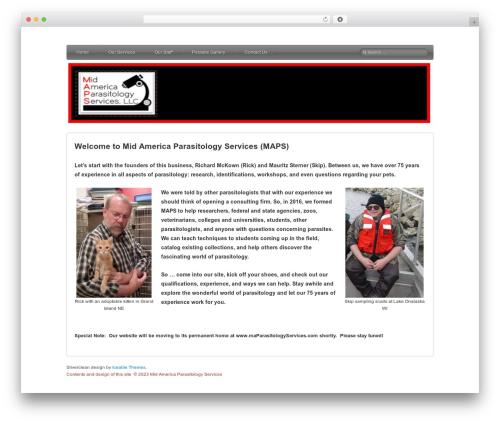 Silverclean Lite free WordPress theme - tashiiam.com