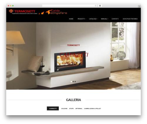 Storefront WordPress template free - termosett.com
