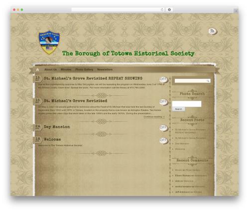 The Vintage theme WordPress - totowahistorical.org