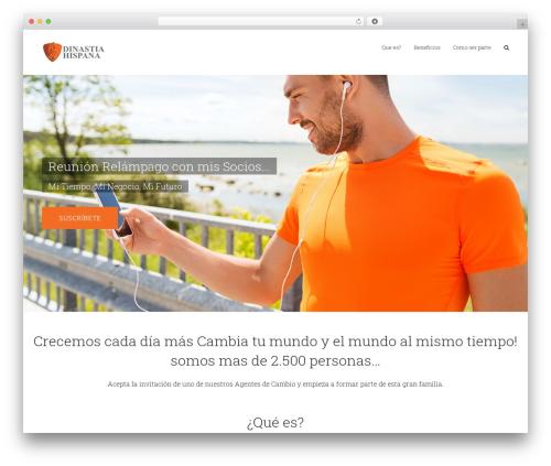 Avada WordPress template - dinastiahispana.org