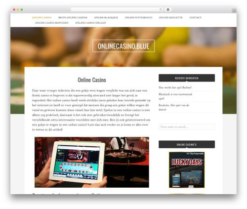 Bulan template WordPress free - onlinecasino.blue