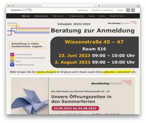 Catch Flames Pro top WordPress theme - bkdin.de