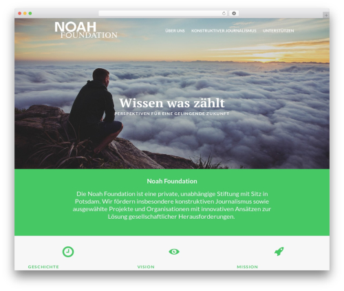 Eco Press best WordPress theme - noahsfund.org
