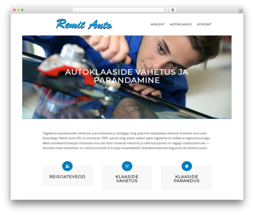 Enfold top WordPress theme - remitauto.ee