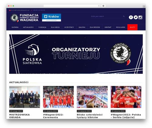 GoalKlub best WordPress template - fundacjawagnera.pl