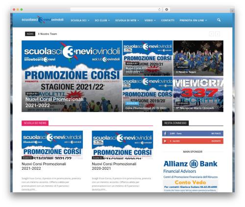 WordPress cff-masonry plugin - scuolascitreneviovindoli.it