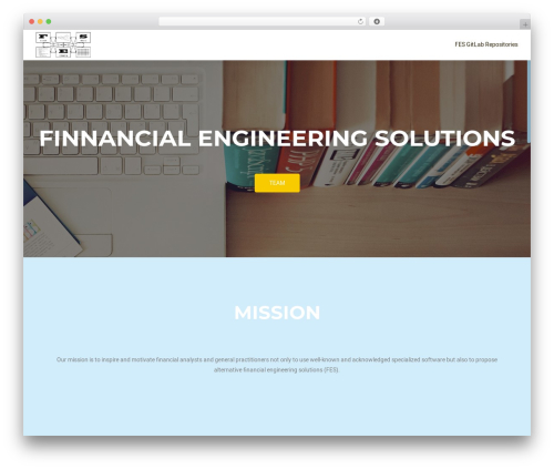 OnePirate template WordPress free - financial-engineering.solutions